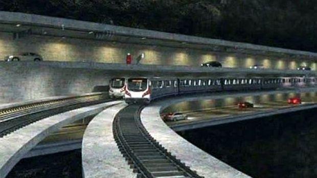 3 Katlı Büyük İstanbul Tüneli'nde Çalışmalar Başladı