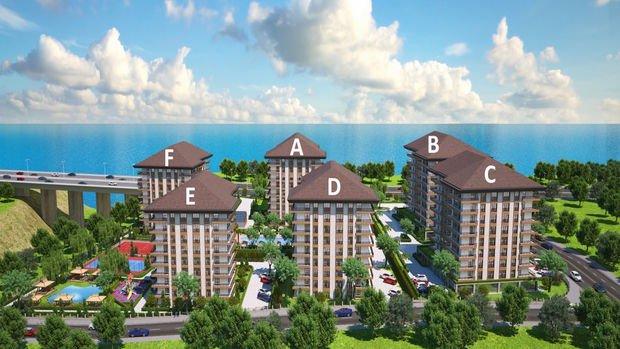 AKS Gulf Residence Trabzon'da 275 Bin TL'ye 3+1