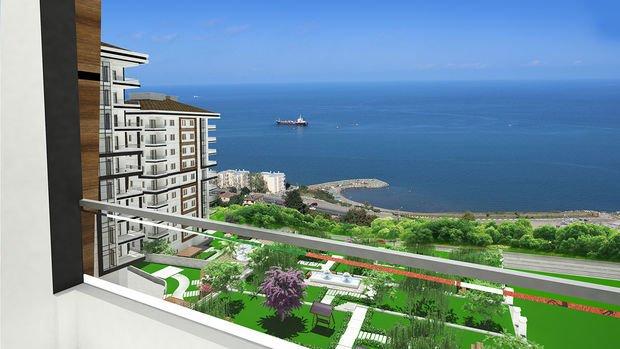 Seyri Deniz Evleri Trabzon'da 340 Bin TL'ye 3+1