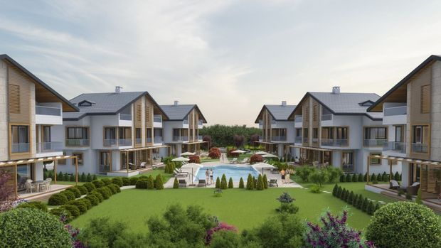 Kilyos Suncity'de Hemen Teslim 5+1 Villa 1 Milyon 465 Bin TL