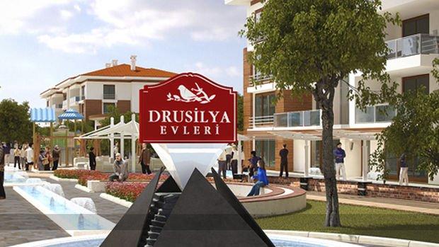 Drusilya Evleri Eskişehir Projesinde 450 Bin TL'ye 3+1