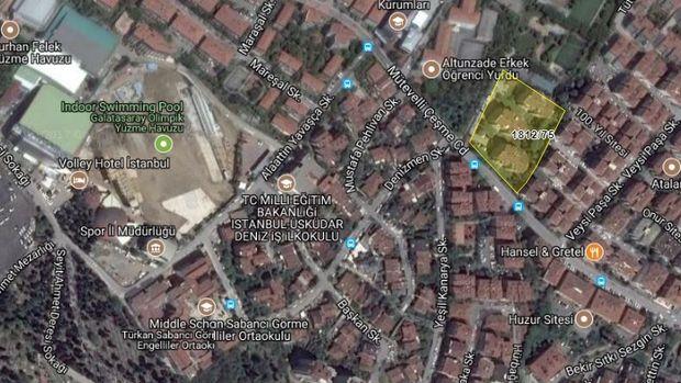 TCDD'den  Altunizade'de Satılık Dubleks