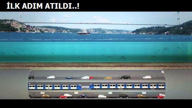 Büyük İstanbul Tüneli Güzergahı Yakında Belli Olacak