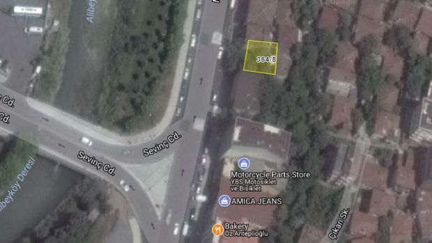 İBB'den Alibeyköy'de Satılık Arsa