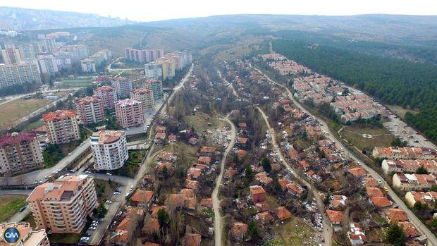 Ankara Gümüşdere Çaldağ ve Şirindere'de Dönüşüm Başladı