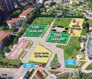 Göztepe Parkı Metroya Şantiye Oluyor