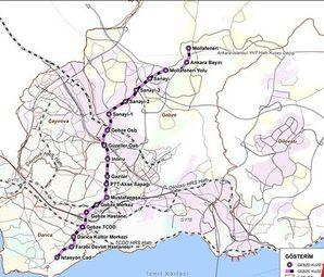 Gebze Darıca Metro Hattı 2018'de İhaleye Çıkıyor