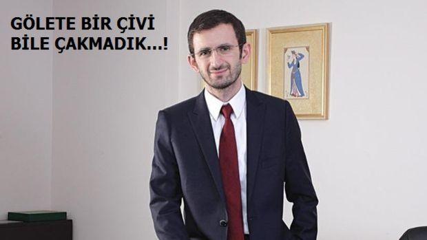 """Atmaca  """"Bahçeşehir Göleti"""" Tartışmalarına Son Noktayı Koydu"""