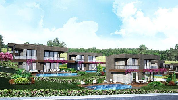Villa Sera Çeşme Fiyatları 1 Milyon Dolardan Başlıyor! Eylül'de Satışta!
