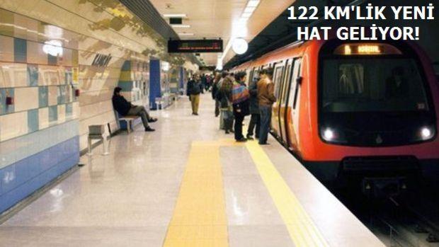 2018'de Açılacak Avrupa Yakası Yeni Metro Hatları