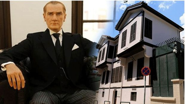 Atatürk'ün Selanik'teki Evine Ziyaretçi Akını