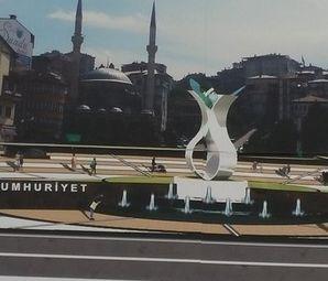 Rize 15 Temmuz Demokrasi ve Cumhuriyet Meydanı Projesinde Kamulaştırma