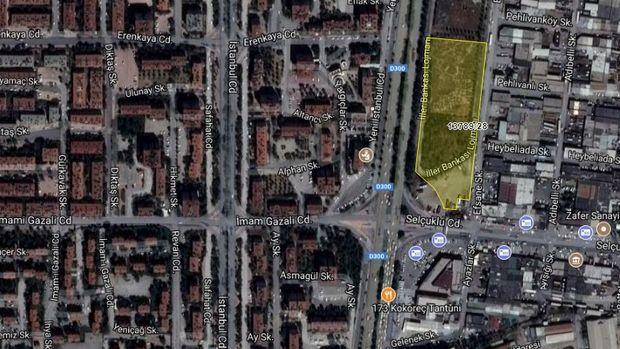 Konya Dikilitaş'ta 55 Milyon TL'ye Satılık Arsa