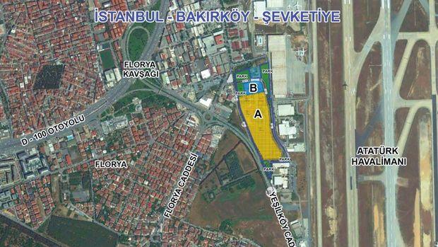 Emlak Konut Bakırköy Şevketiye Arsası 4 Ekim'de İhaleye Çıkıyor