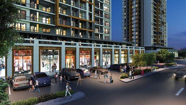 Vadişehir Cadde Dükkanları 23 Eylül'de Satışta