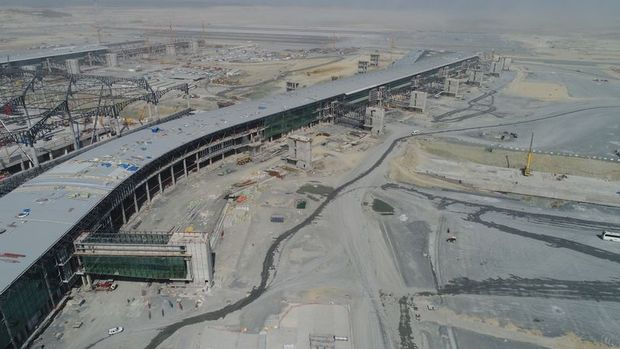 3.Havalimanı'nın Yolcu Köprüleri İlk Kez Görüntülendi