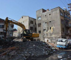 Trabzon Pazarkapı Projesinde Yıkımlar Başladı