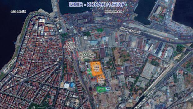Emlak Konut İzmir Konak 1.Etapta Yer Teslimi Yapıldı