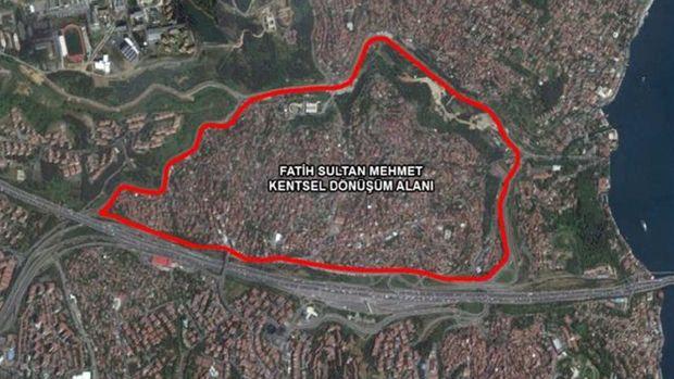 Sarıyer Fatih Sultan Mehmet Mahallesi Kentsel Dönüşüm Planı Askıda