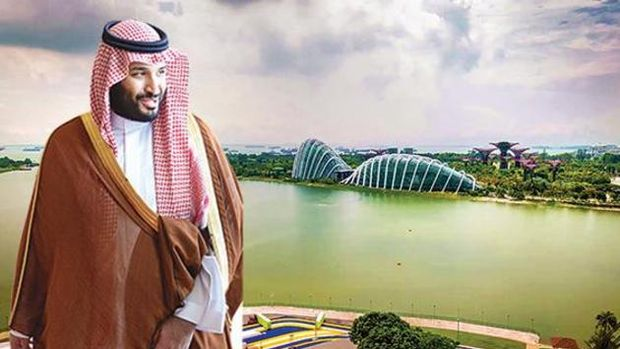 Suudi Arabistana  500 Milyar Dolarlık Mega Kent