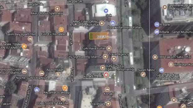 İBB'den Şişli'de Satılık 10 Katlı Apartman