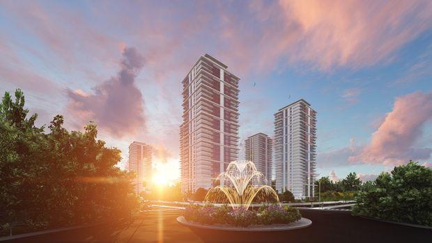 Başkent Yonca Evleri Projesinde 350 Bin TL'ye 4+1