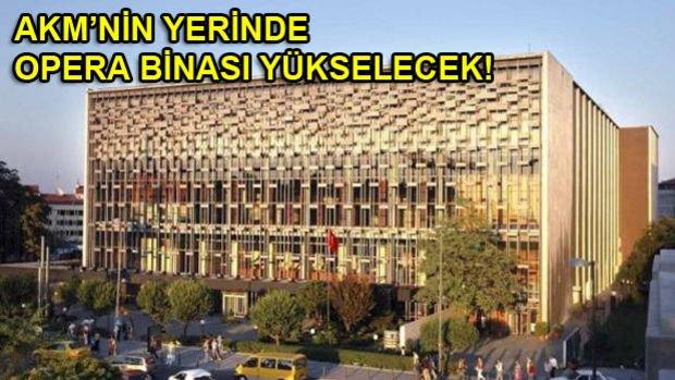 Taksim Yeni AKM Projesi Pazartesi Görücüye Çıkıyor