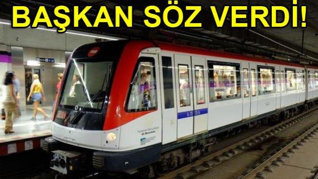 Üsküdar Çekmeköy Metrosu 1 Aya Açılıyor