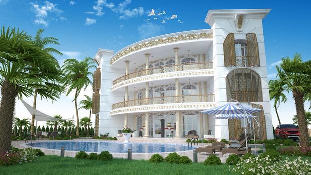 Yalıncak Villaları Projesinde 1 milyon Dolara 7+2