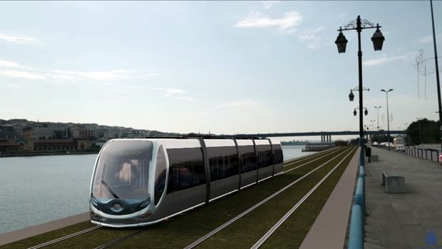 Eminönü Eyüp Alibeyköy Tramvay Hattı 2018'de Açılıyor