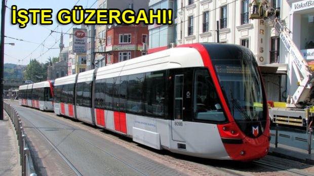 Habibler Tepeüstü Tramvay Hattı Yolda