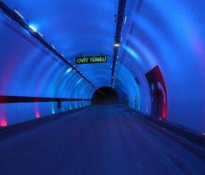 Türkiye'nin En Uzun Tüneli Ulaşıma Açıldı