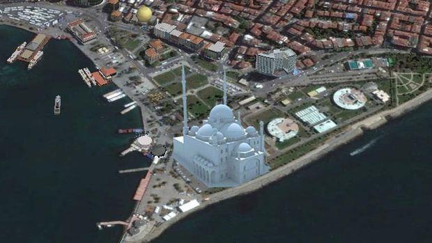 Kadıköy Rıhtıma Cami'ye Davalar Sürerken  Onay Çıktı