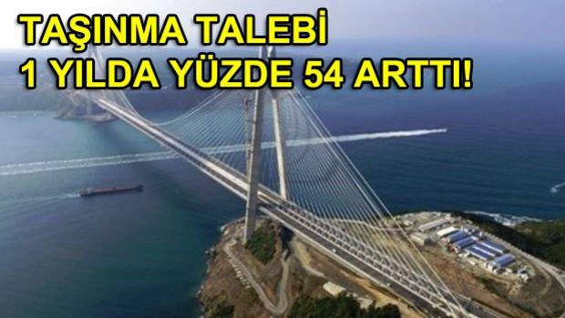 3. Köprü Bu 5 Bölgeye Talebi Artırdı