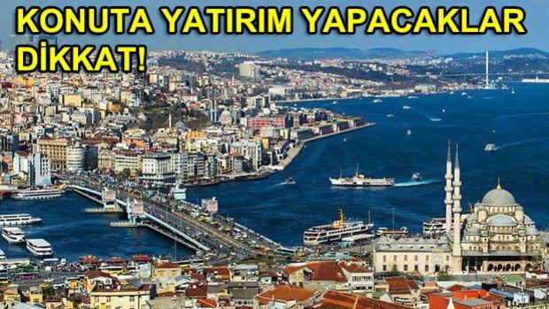 İstanbul'da Değeri En Çok Artan Bölgeler