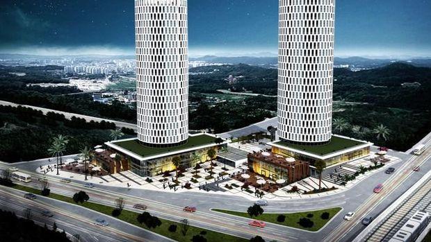 Lotus Towers'ta 700 Bin TL'ye 4+1