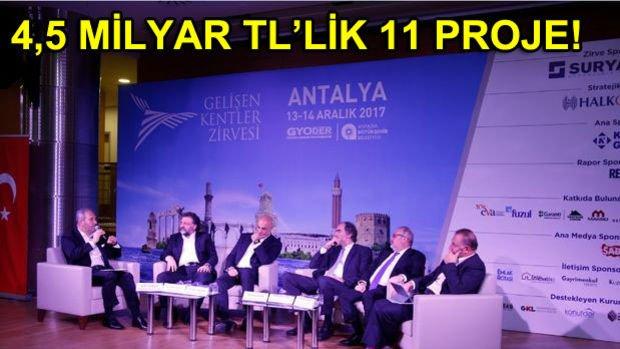 Antalya Mega Projeler İçin Yatırımcı Bekliyor
