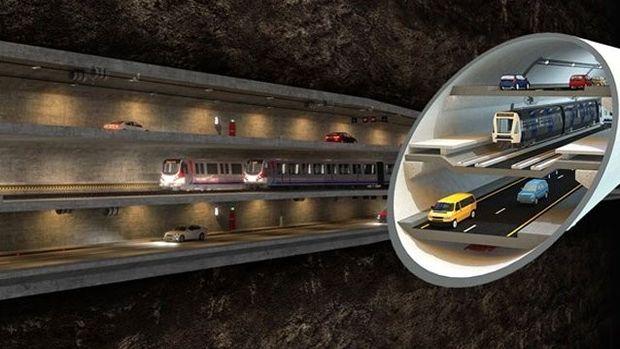 3 Katlı Büyük İstanbul Tüneli'nde Değişiklik