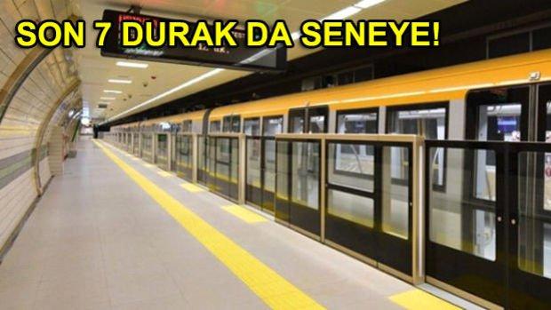 Üsküdar Ümraniye Metrosunun Açılan 9 Durağı