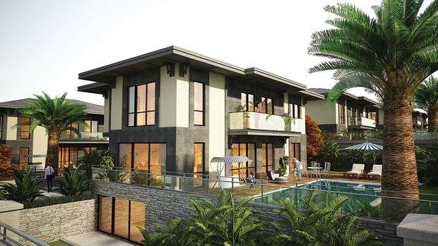 Yonca Villapark Projesinde 2 Milyon 700 Bin TL'ye 6+2