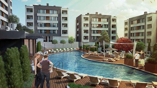 Lindenpark Eskişehir Konut Projesinde 350 Bin TL'ye 3+1