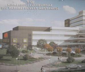 Lüleburgaz'da Yeni Devlet Hastanesi! Ağustos'ta Açılıyor!