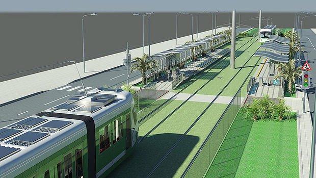 Konak Tramvayı Şubat'ta Test Sürüşüne Çıkıyor