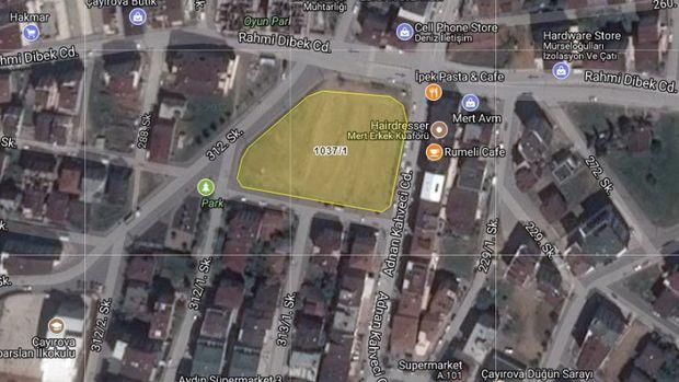 Belediyeden Çayırova'da 13 Milyona Satılık Arsa