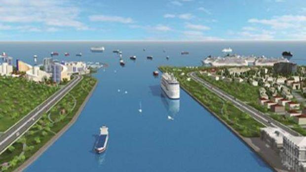 Kanal Riva Projesinde İmzalar Atıldı