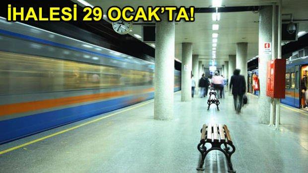 İstanbul'a 60 Kilometrelik Yeni Metro Hattı