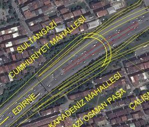 Metris Kavşağı'nda Trafik Sorunu Bitiyor