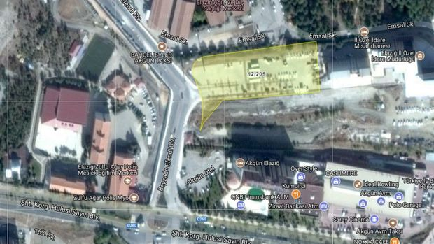 Elazığ'da 11 Milyona Satılık Arsa
