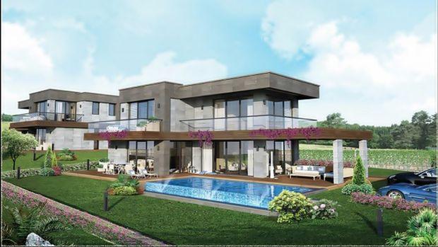 Hezarfen Villaları Fiyatları 1 Milyon 50 Bin TL'den Başlıyor