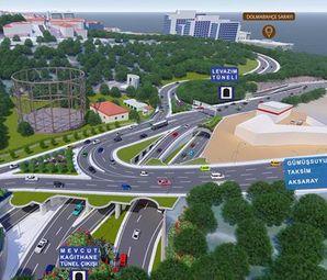 Dolmabahçe Levazım Tüneli İle 70 Dakikalık Yol 5 Dakikaya İnecek